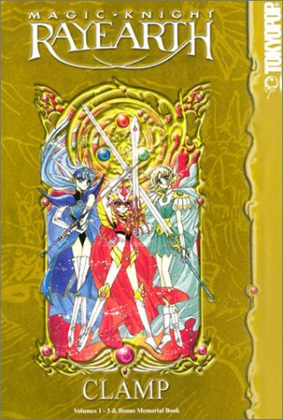 Magic Knight Rayearth Book Cover