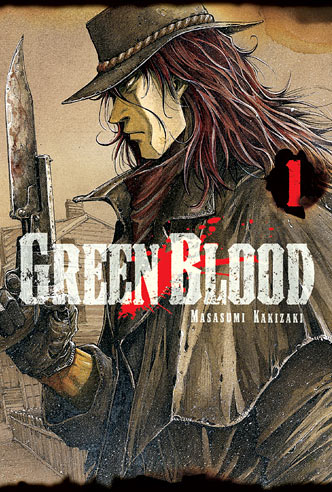 Green Blood Book Cover