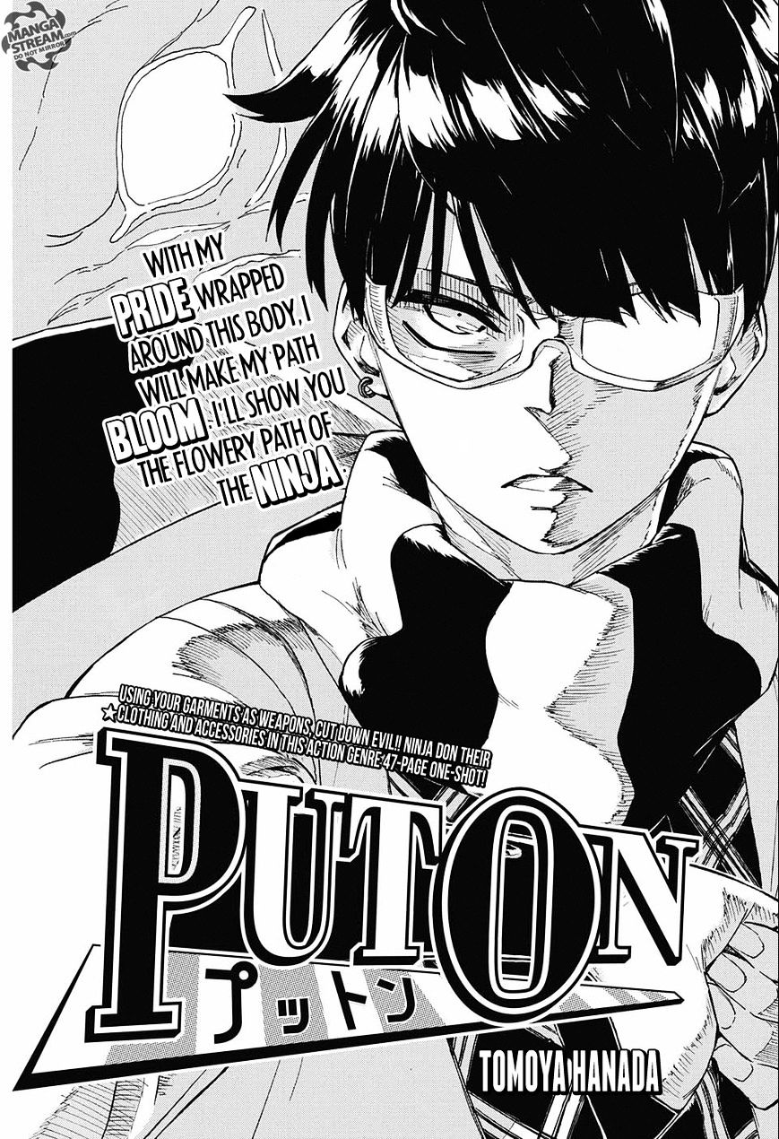 PUTON Book Cover